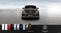 Mercedes AMG GLE 43 4MATIC 2017 màu Nâu Citrine 796