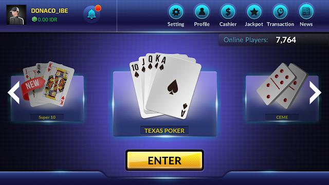 mengenai fitur aplikasi poker online
