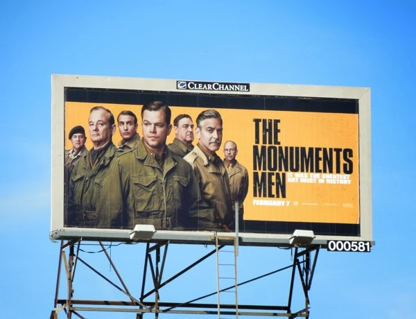 Monuments Men film billboard