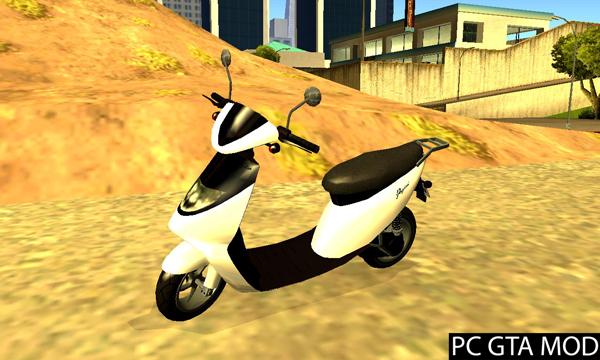 Free Download GTA V Pegassi Faggio Sport  Mod for GTA San Andreas.