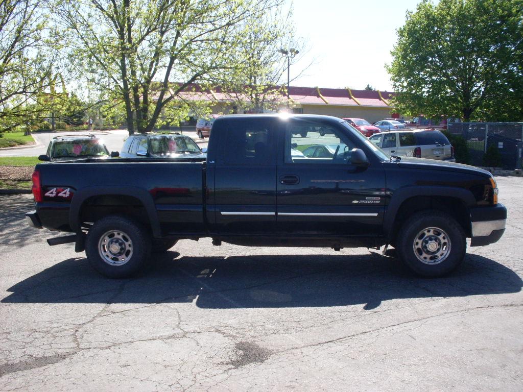 Chevrolet Silverado Duramax Black