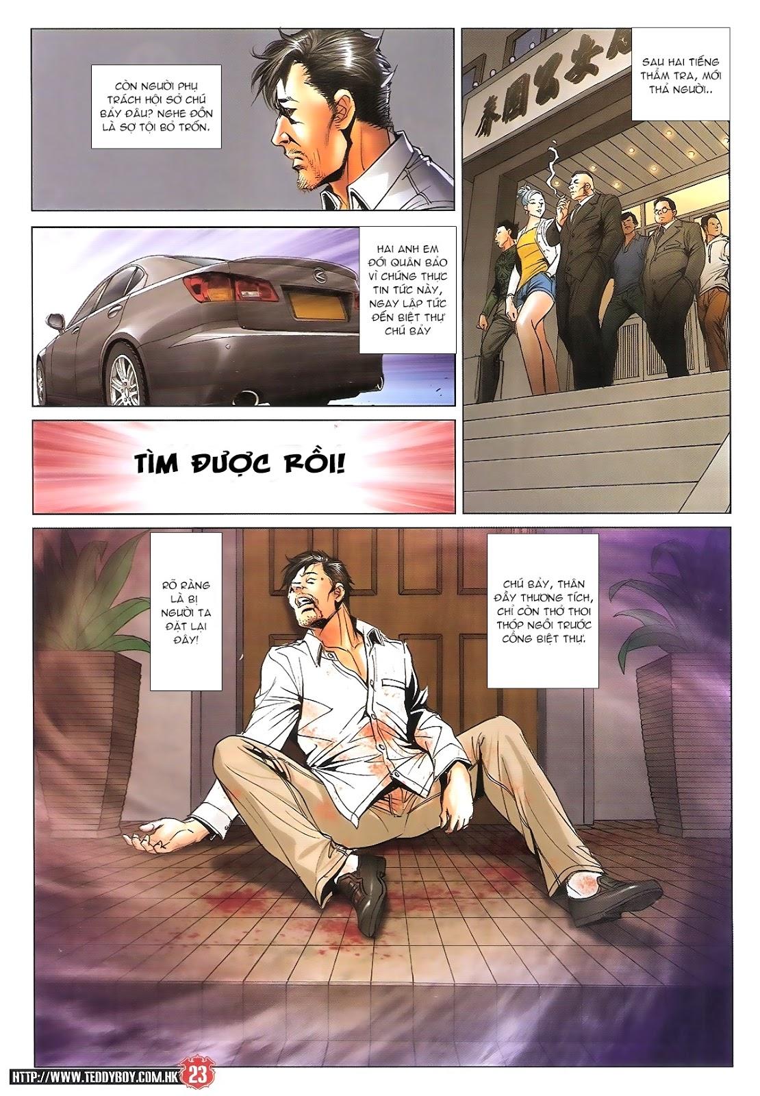 Người Trong Giang Hồ chapter 1696: giết vào vượng giác trang 22