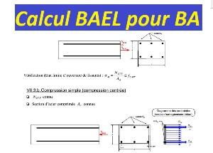 Principes et calcul bael pour b ton arm cours g nie - Calcul dalle beton ...