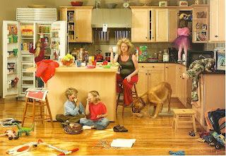 hectic+household