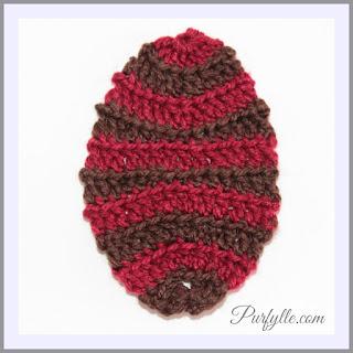 Easter Egg Crochet Motif 3