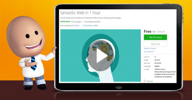 [100% Off] Semantic Web in 1 hour| Worth 40$