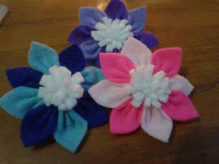 bunga bros dari kain flanel