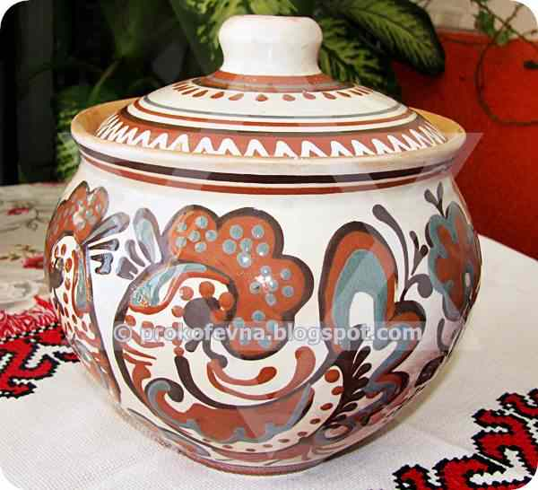 My clay pot from Ukraine