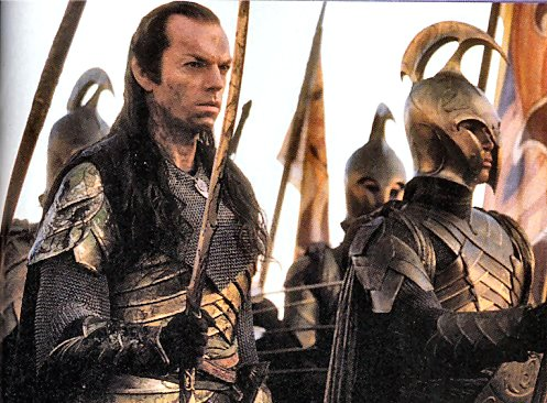 movie - NEW PRODUCT: ASMUS TOYS THE LORD OF THE RING SERIES: ELROND (Product ID: LOTR024) Elrond_spear