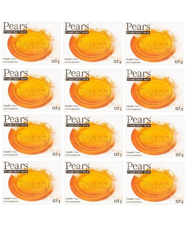 Pack Of 12 - Pears Gentle Care Soap 125 g