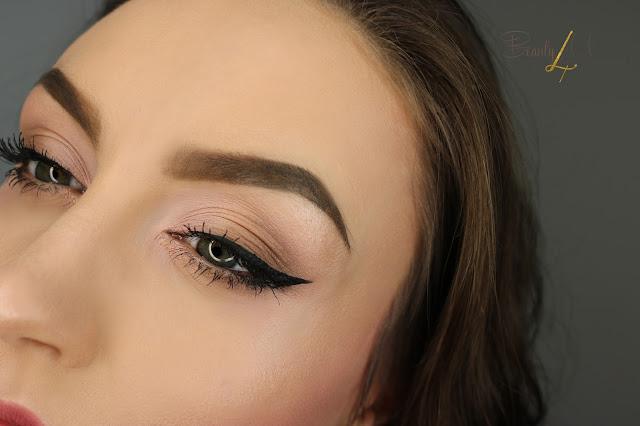 Makijaż codzienny, drogeryjnymi kosmetykami - makeup