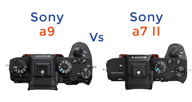 Sony a9 vs Sony a7 II Specs Comparison