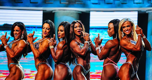 The Women of the Arnold Sport Festival 2017