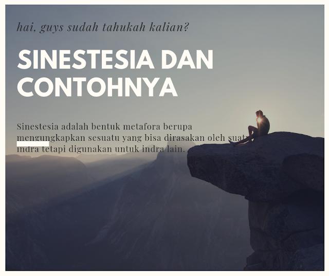Sinestesia dan Contohnya