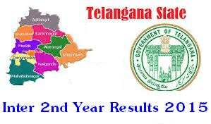 Telangana TS Intermediate 2nd Year Results 2015