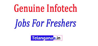 Genuine Infotech Recruitment 2017 Jobs For Freshers Apply
