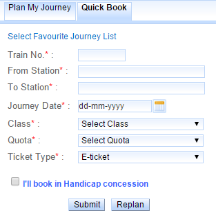 IRCTC LOGIN Page | Train Enquiry And Railway Reservation