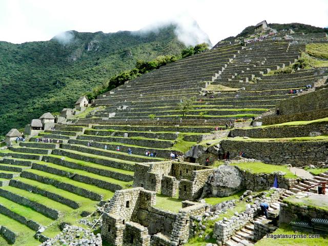 Terraços de cultivo de Machu Picchu