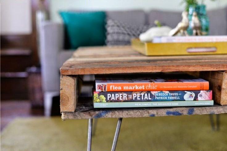 Cara Membuat Kerajinan Tangan Yang Mudah | Meja Pallet Bekas 7
