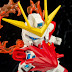 Review: SD BB Senshii Build Burning Gundam by Hacchaka
