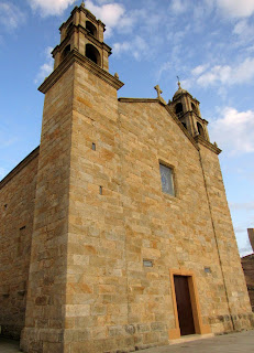 Iglesia de Sta. María de la Barca. Muxía