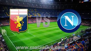 مشاهدة مباراة نابولي وجنوى بث مباشر بتاريخ اليوم 18-03-2018 الدوري الايطالي