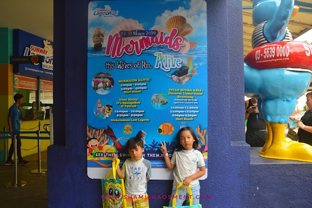 Catch Mermaid Alive at Sunway Lagoon this School Holidays!