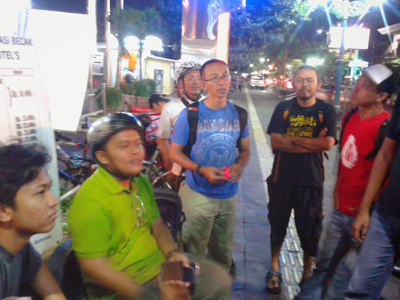 Senior-senior dari Bike to Work Jogja