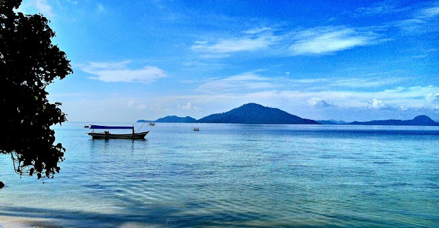 Another Example of What Smartphone Camera Can Do - Klara Beach, Lampung Province