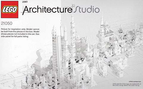 Lego 21050 Architecture Studio w//extra pieces please read description