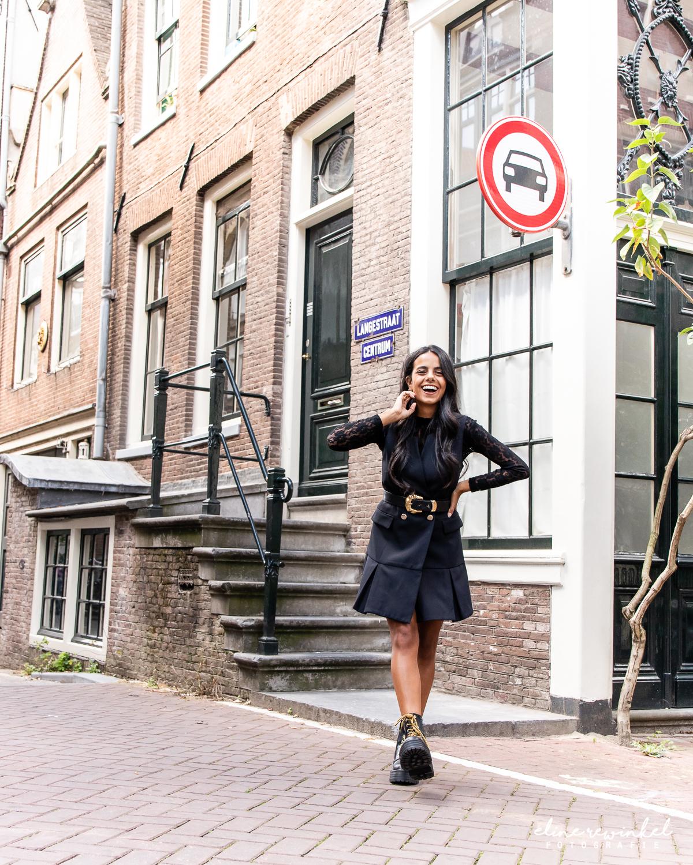 Streetstyle photos in Amsterdam