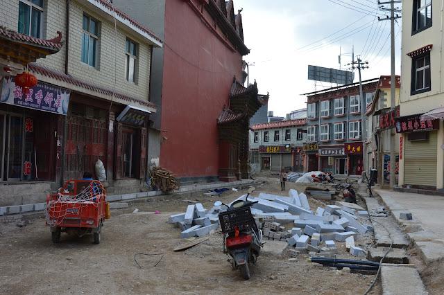 Vieille ville de Shangri-La en reconstruction