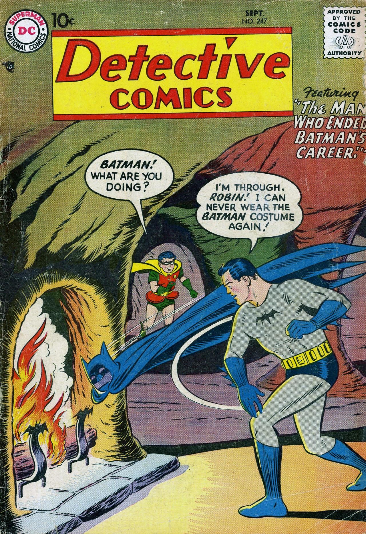 Read online Detective Comics (1937) comic -  Issue #247 - 1