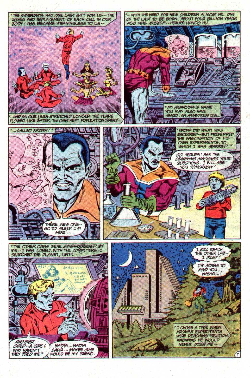 Read online Secret Origins (1986) comic -  Issue #23 - 8