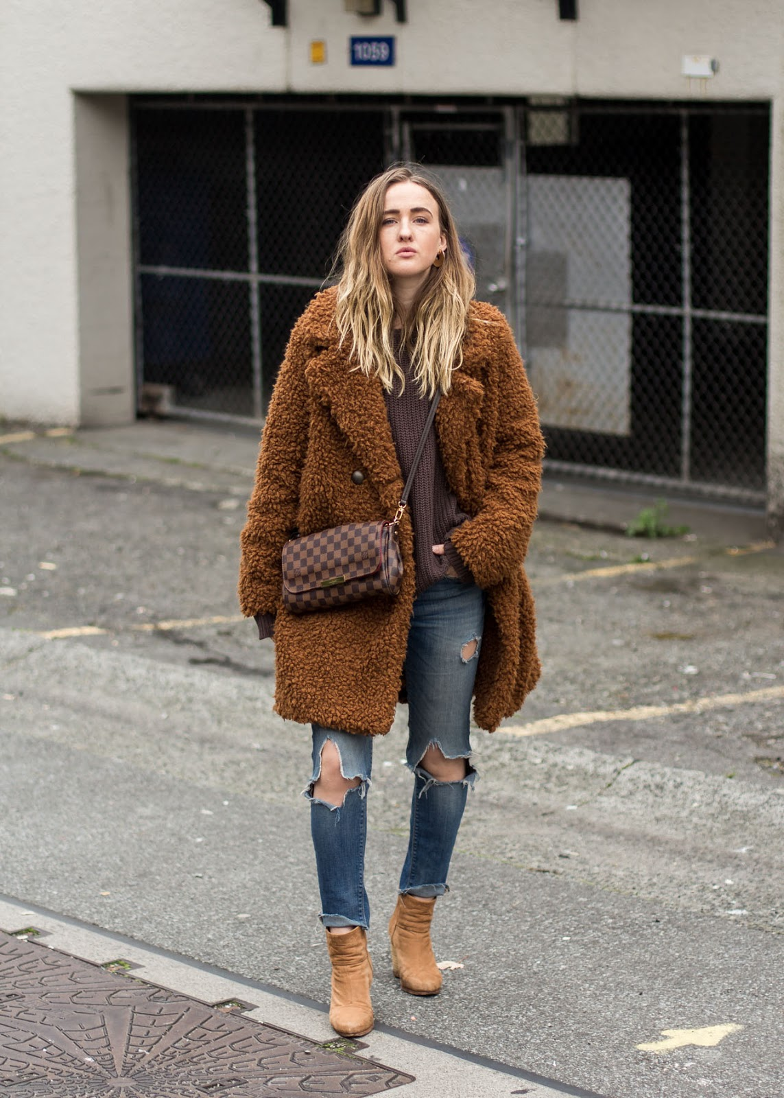 Coziest coat - Forever 21 - brown Fall outfit - Vancouver Fashion Blogger - style