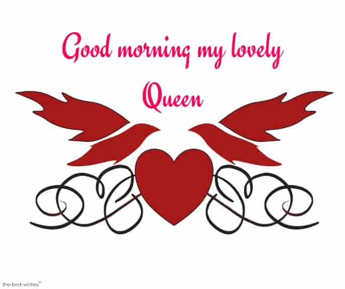 good morning my lovely queen picture