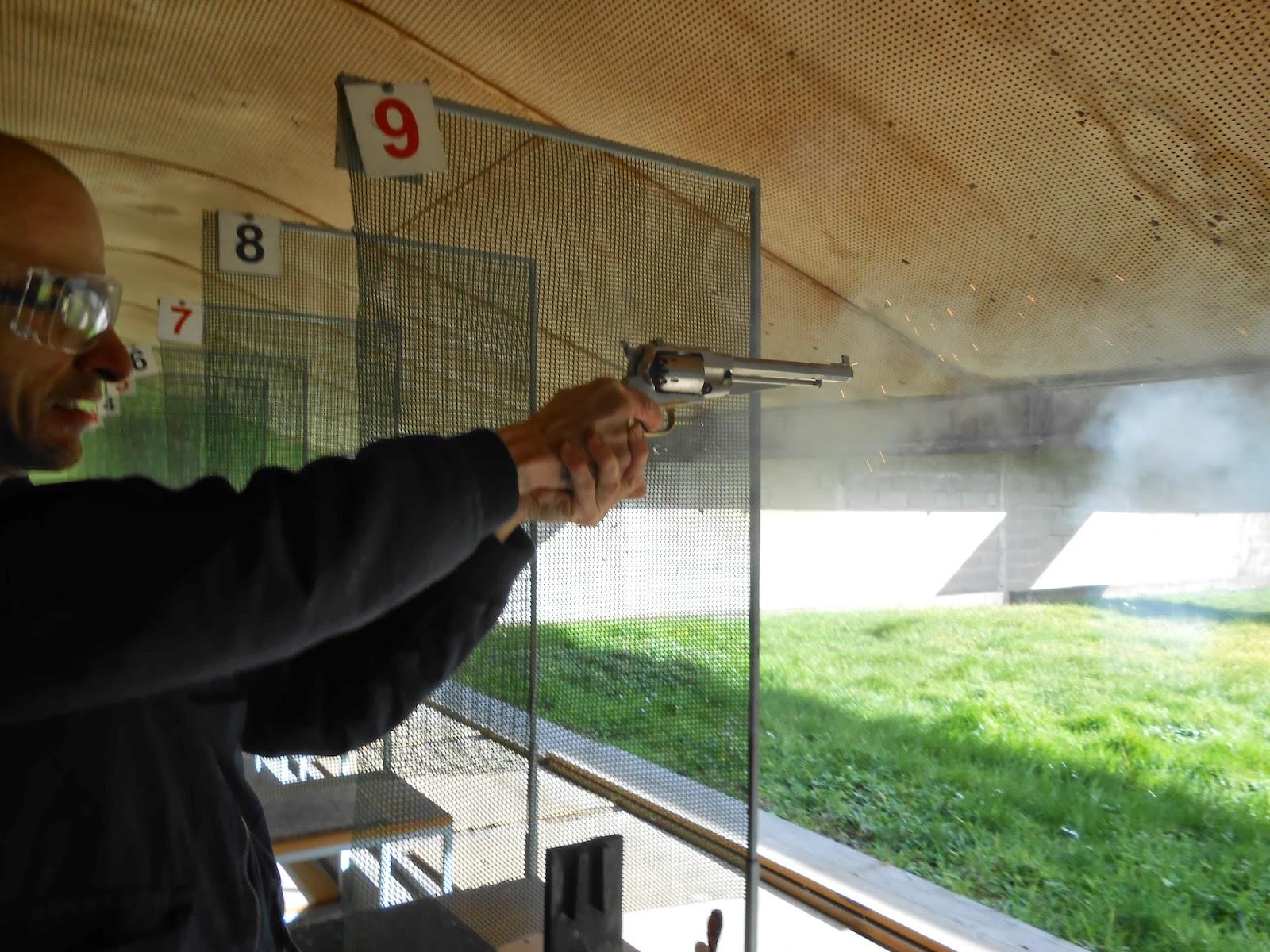 tir remington poudre noire