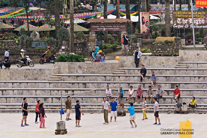 Quang Truong Square Sapa Vietnam