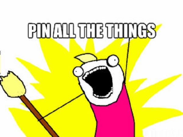 Tip 4: Pin All The Things!