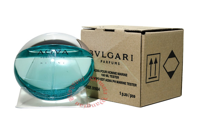 Bvlgari Aqva Pour Homme Marine Tester Perfume