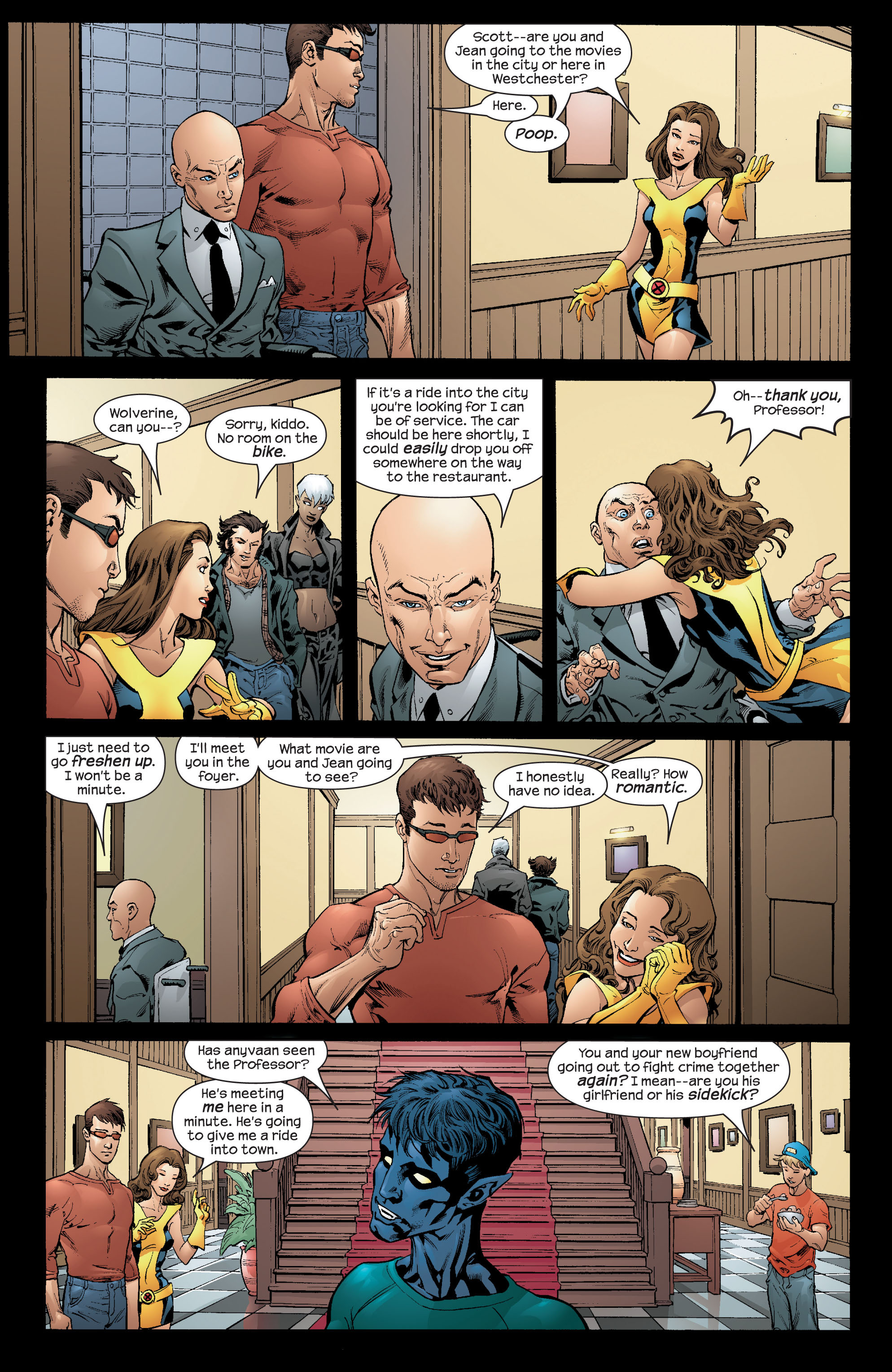 Read online Ultimate X-Men comic -  Issue #66 - 4