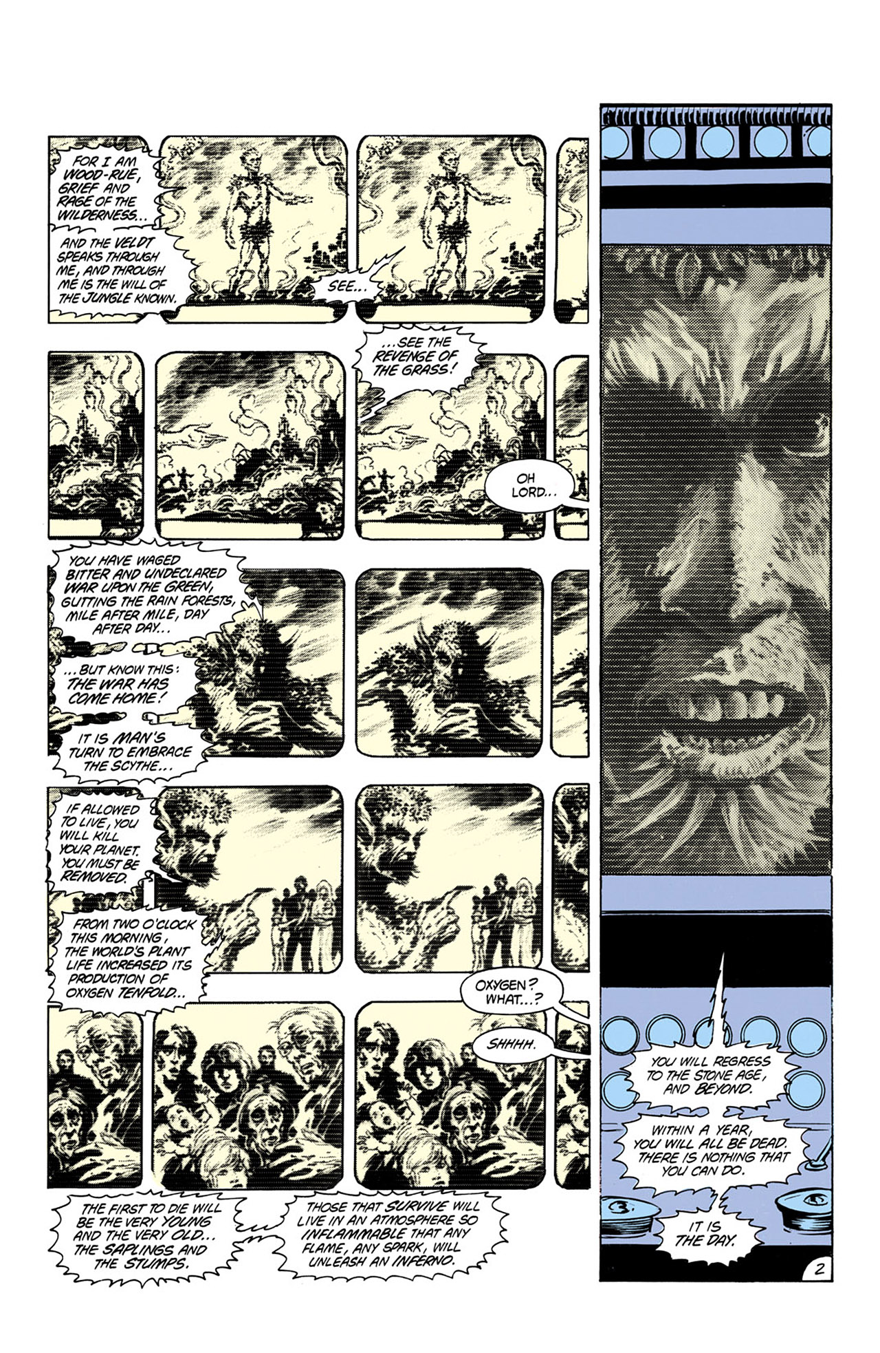 Swamp Thing (1982) Issue #24 #32 - English 3