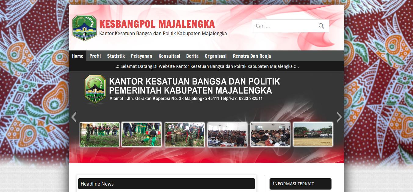 Website Resmi Kantor Kesatuan Bangsa Dan Politik Kabupaten Majalengka | Kantor Kesbangpol Kab. Majalengka | FajarPunya | www.fajarpunya.com author