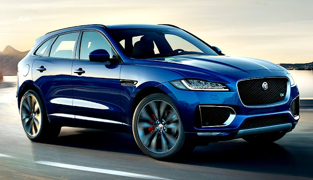Jaguar F-Pace front blue dark