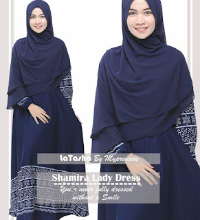 Gamis Latasha Shamira Lady Dress