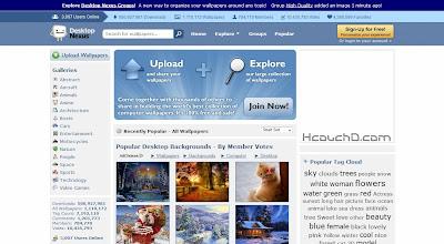 موقع Desktop Nexus