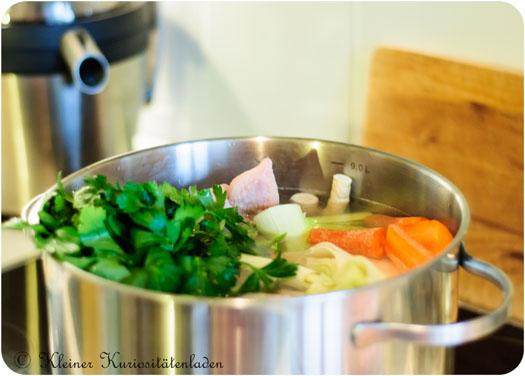wie lange suppenhuhn kochen