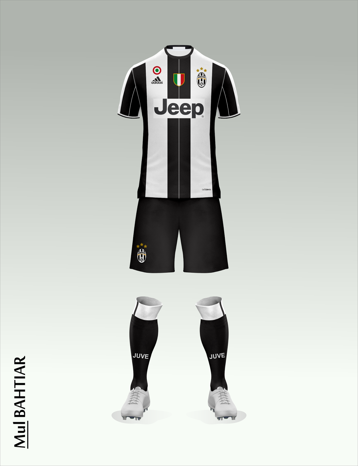 2016 2017 Juventus Kits Released Mulbach Design