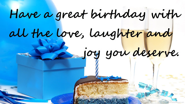 Happy birthday wishes for anyone, any age or any type Here, there's an amazing wish for everyone... best birthday wishes