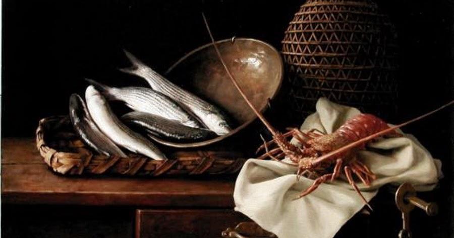 Cuadros modernos pinturas y dibujos bodegones marineros - Cuadros con peces ...
